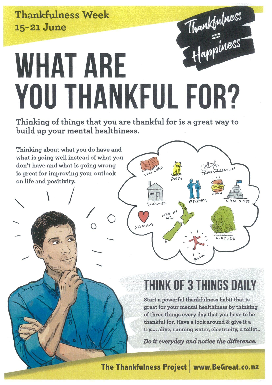 thankfulness project